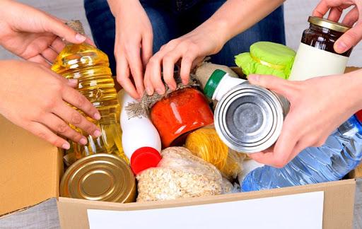 Como montar uma cesta básica para doação